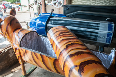 Creative coffins in Accra, Ghana