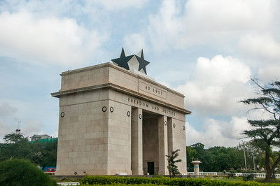 Independence Arch in Accra, Ghana