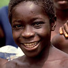 Smiling happy boy; Benso; Ghana