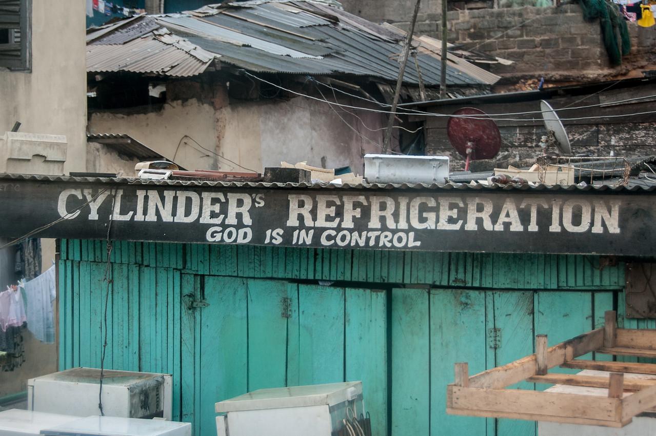 Business name in Takoradi, Ghana
