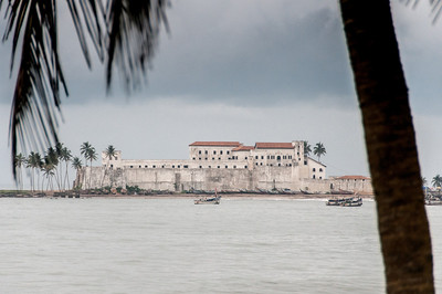 Cape Coast Castle in Takoradi, Ghana