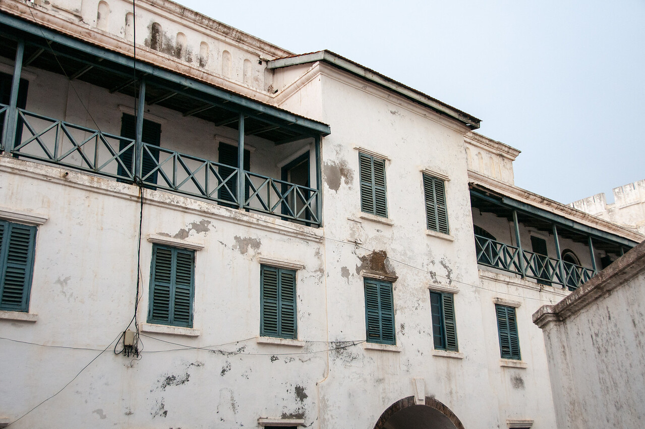 Slave fort in Takoradi, Ghana
