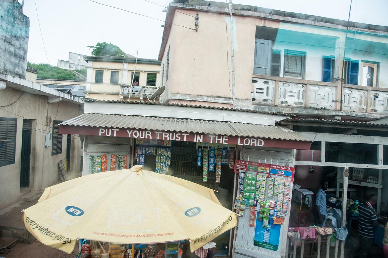 Store in Takoradi, Ghana