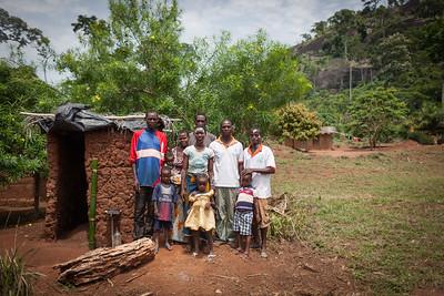 Dainé-Yalé, Biankuoma, IVORY COAST,  June 2015: UNICEF with IRC partners and ECHO funding implementing a program to eliminate open defecation (when people without sanitation facilities are forced to defecate in open areas lending to numerous preventable diseases.). The village of Dainé-Yalé is evaluated on its newly built latrines and hand washing facilities and celebrating being declared certified. Gogbé Leatitia, 23 ans, qui a fait une courte interview ''Avant on devait aller en brousse. La brousse est très loin. Mais on était obligé d'aller la bas car il n'y a pas de latrines. On courrait pour aller la bas. Il y avait assez de maladie. On ne savait pas pourquoi mais on acceptait ça comme ça''. Puisqu'il n'y avait pas de latrines. ''Maintenant on a eu notre latrine. Je suis heureuse.'' Photo: Christopher Herwig/UNICEF