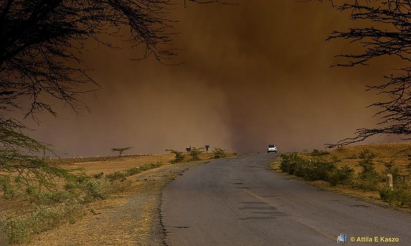 Dust Storm - Kenya