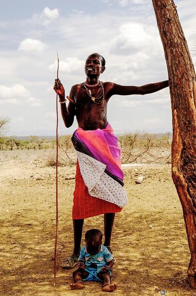 Samburu Warrior - Child