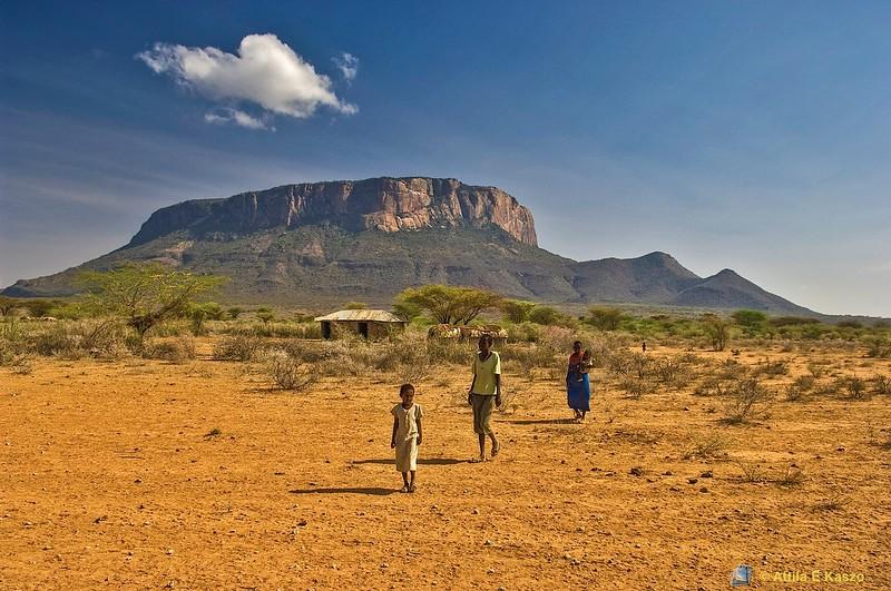 Sacred Mtn., Samburu NP, Kenya