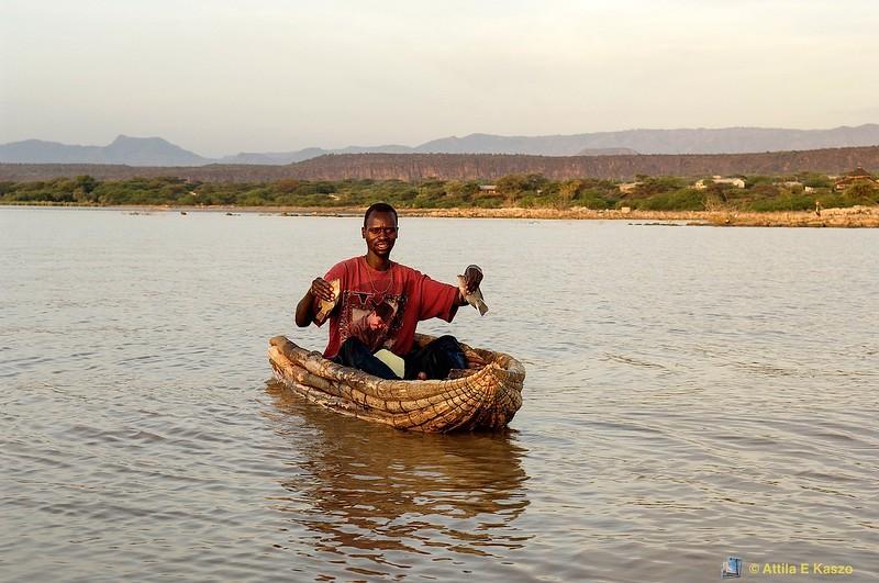 Fisherman<br /> lake baringo np