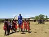 Maasai villagers, Masai Mara NP