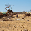 Village at Samburu -- imagine living here without water!