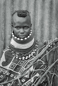 Young Turkana Girl. Lokichoggio, northwestern Kenya 2013