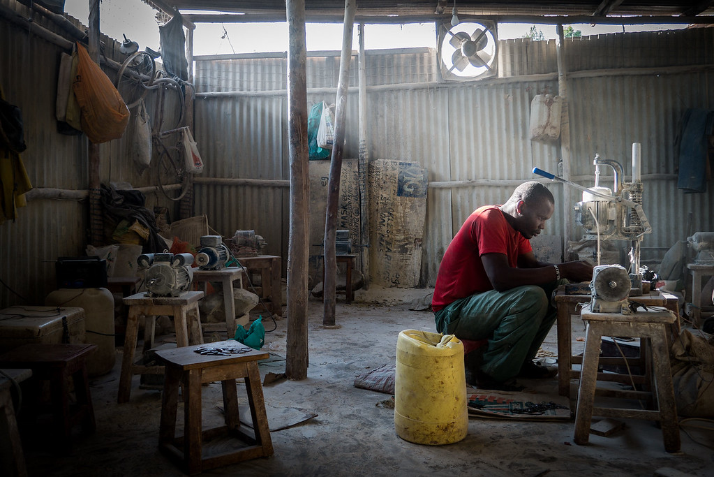 kibera bone crafts