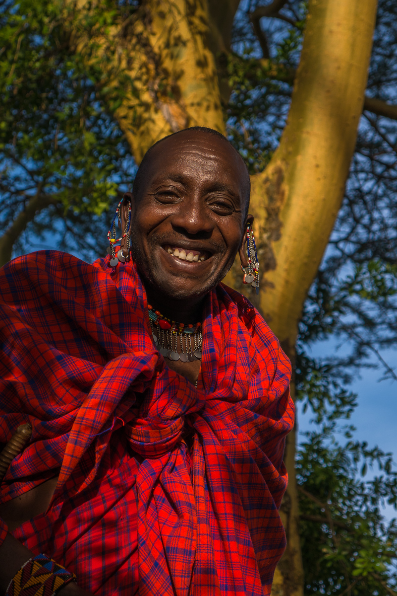 Quela, a Maasai warrior who taught me so much about Maasai life.