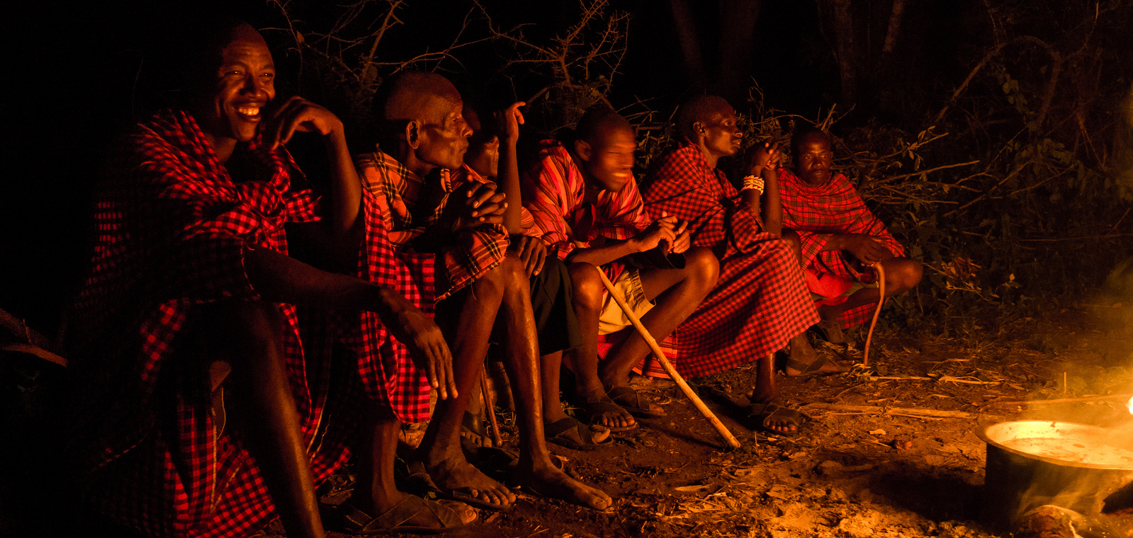 Traditional Maasai songs and dance.