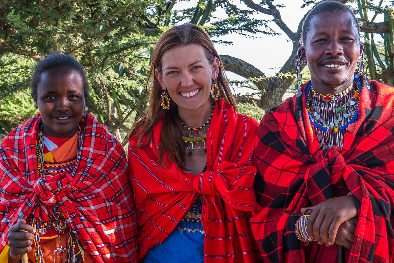 Meeting the Maasai at Maji Moto