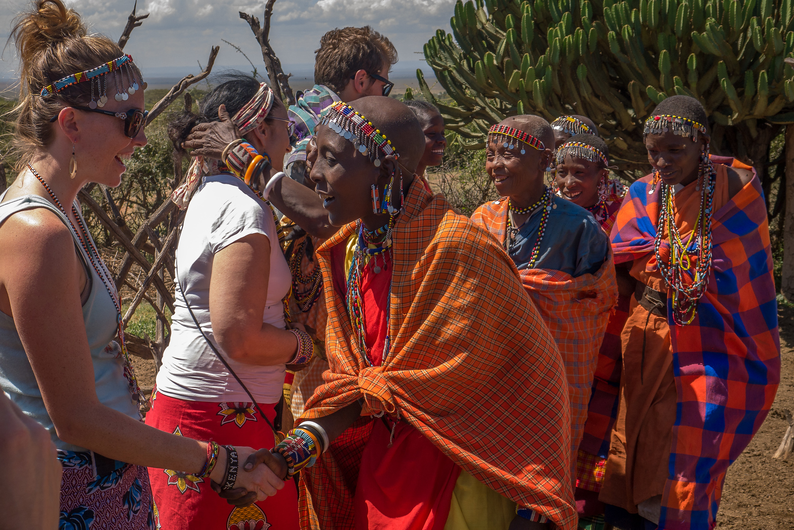 what it's like to meet Maasai women