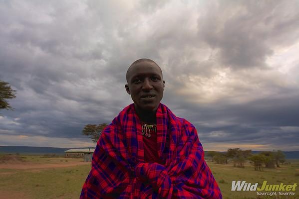 Our Masai guide Sam