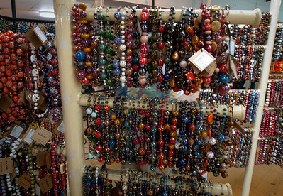 Today Kazuri, the Swahili word for 'small and beautiful' produces a wide range of hand made, hand painted ceramic jewelry that shines with a kaleidoscope of African colors and Kenyan art that reflects a culture and appeal to a worldwide fashion market. Kazuri's beautifully finished products are made to an international standard and are sold worldwide.