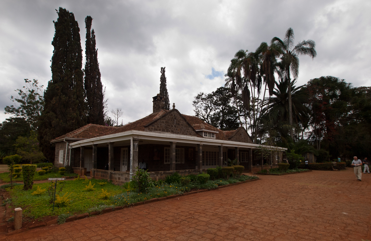 """We visited the house and museum of Danish writer Karen Blixen, who as Isak Dinesen wrote """"Out of Africa""""."""