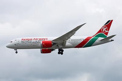 """5Y-KZA Boeing 787-8 """"Kenya Airways"""" c/n 35510 Oshkosh/KOSH/OSH 30-05-17"""