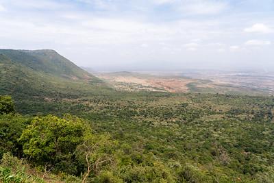 Great Rift Valley in Kenya