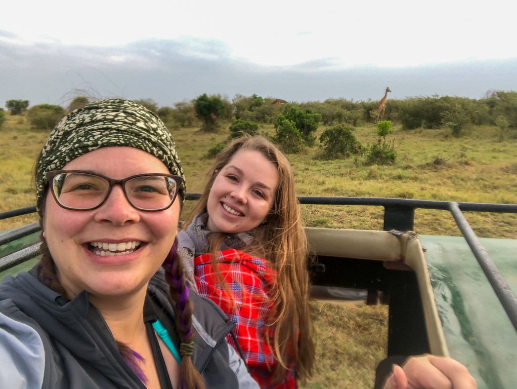 On safari in the Maasai Mara