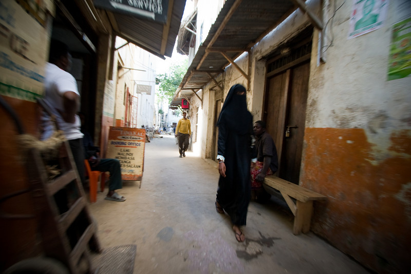 The narrow alleyways of Lamu town are great for strolling.<br /> <br /> Location: Lamu, Kenya<br /> <br /> Lens used: 10-22mm f3.5-4.5