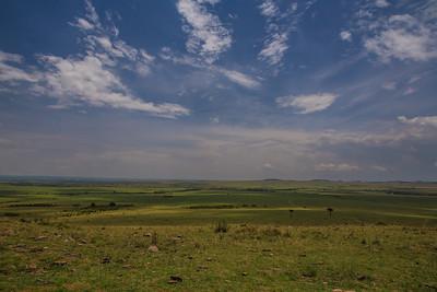 Masai Mara, Kenya A view of the beautiful  Masai Mara.