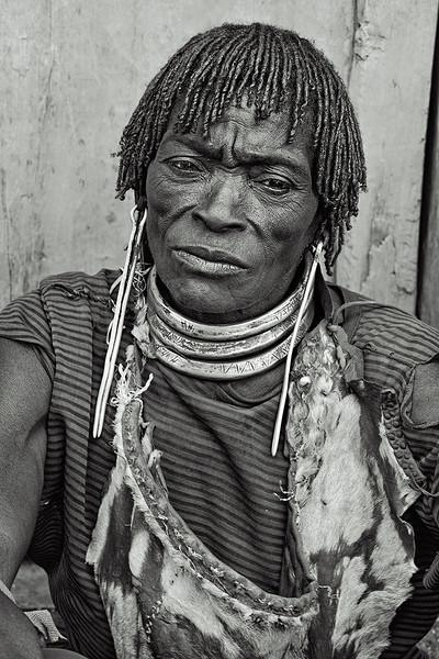 Bana woman, Key Afer market. Ethiopia