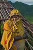 Young Surma girl. Tulgit, Ethiopia