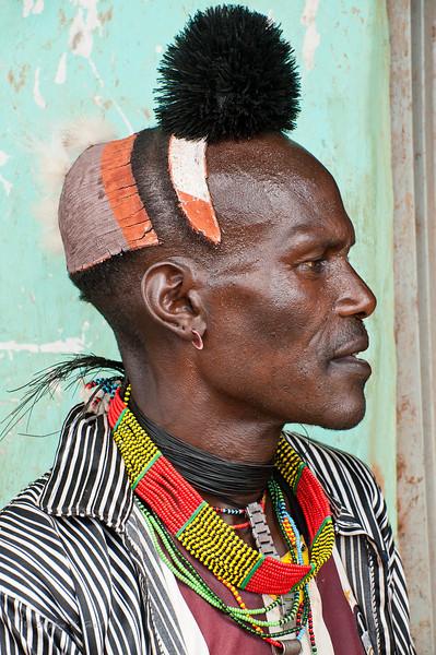 Benta man, Turmi, SNNPR, Ethiopia