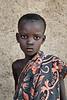 Young Bodi girl. Hana, Ethiopia
