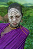Surma girl, South Omo, Ethiopia