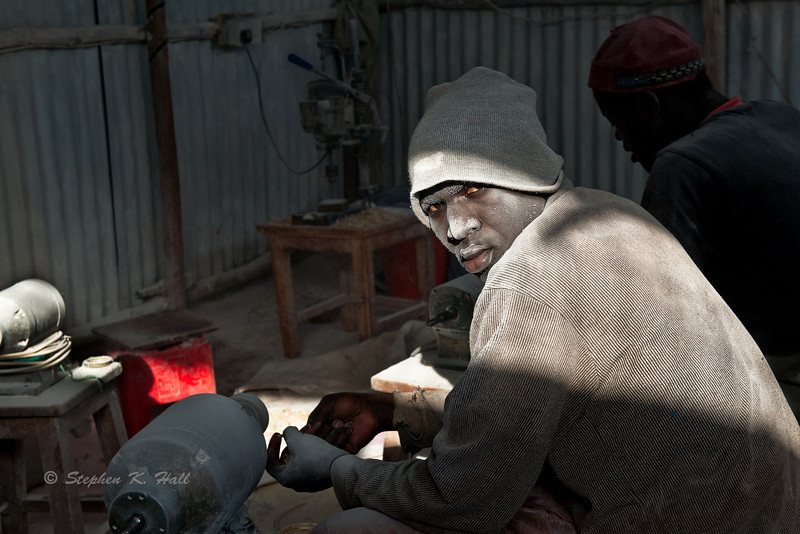 Jewelry makers, Kibera, Nairobi, Kenya