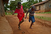 School's out. Time for hopscotch. Ugenya, Kenya