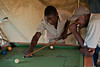 Afternoon game of pool. Ukwala, Kenya