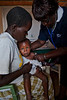 Pediatric assessment. Nzoia health clinic. Ugenya, Kenya