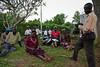 Community meeting, water contamination. Ugenya, Kenya