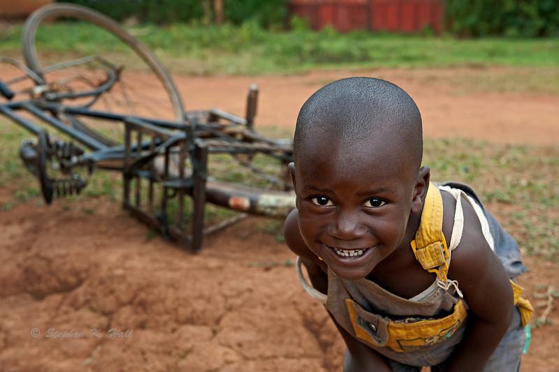Youthful curiosity. Ukwala, Kenya