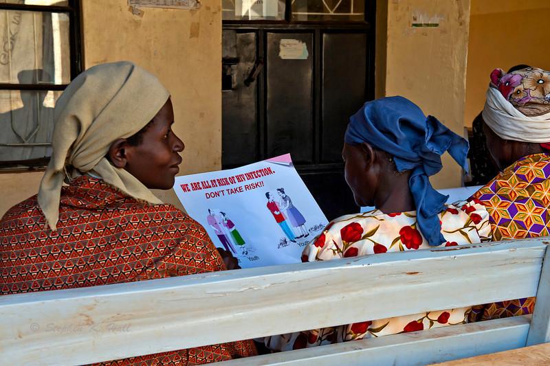 Assessing the risk. Ukwala Health Clinic. Kenya