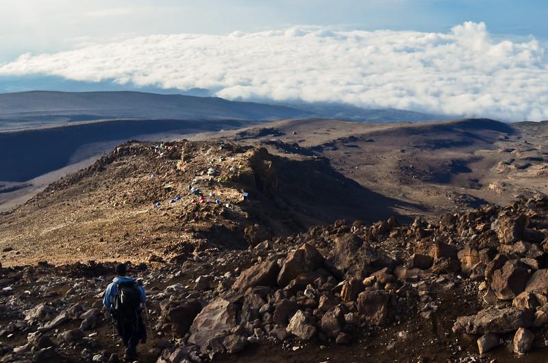 Mount Kilimanjaro - Barafu camp