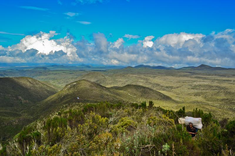 Mount Kilimanjaro - Shira plateau