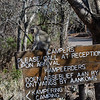 They sent that vervet monkey out to sit on that sign and wait for us -- what a special greeting!