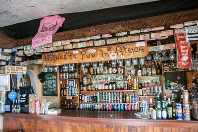 Inside the highest pub in Africa - Sani Pass, Lesotho
