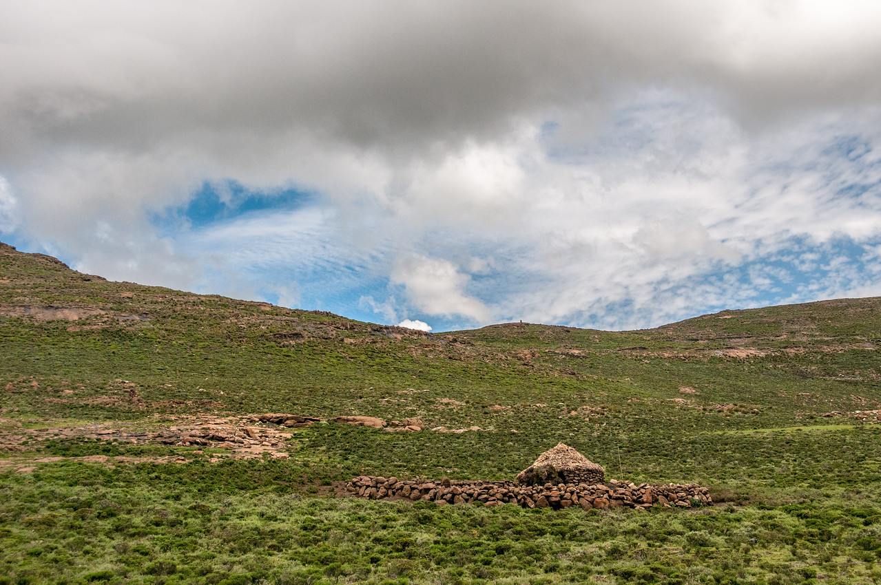 Scenery in the Sani Pass, Lesotho