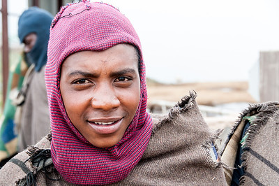 Local at the Sani Pass, Lesotho