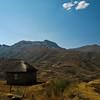 Maluti mountains of Lesotho