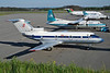 "EL-CAR Yakovlev Yak-40 ""Ales Airlines"" c/n 9412030 Luxembourg/ELLX/LUX 21-04-97 (35mm slide)"