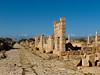 Northwest along the Decumanus Maximus, Leptis Magna