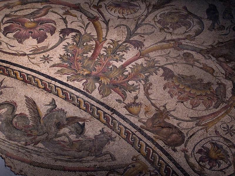 Mosaic, National Museum, Tripoli